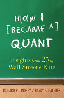 How I Became a Quant