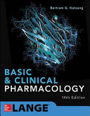 Cover of Basic and Clinical Pharmacology 14E