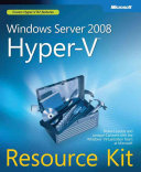 Windows Server 2008 Hyper V Resource Kit