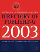 Directory Of Publishing 2003
