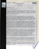 Operations Letter