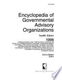 Encyclopedia of Governmental Advisory Organizations