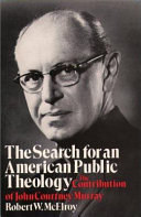 The Search for an American Public Theology