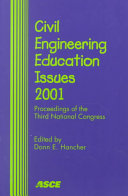 Civil Engineering Education Issues 2001 Book