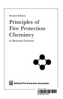 Principles Of Fire Protection Chemistry Book PDF