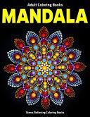 Adult Coloring Books Mandala