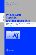PRICAI 2002  Trends in Artificial Intelligence