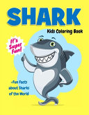Shark Kids Coloring Book