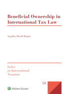Beneficial Ownership in International Tax Law