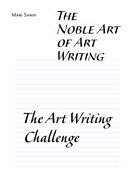 The Noble Art of Art Writing Book