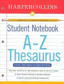 HarperCollins Student Notebook A Z Thesaurus