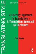 Translating Style [Pdf/ePub] eBook