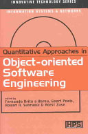 Quantitative Approaches in Object oriented Software Engineering Book