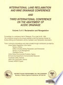 International Land Reclamation and Mine Drainage Conference and Third International Conference on the Abatement of Acidic Drainage: Reclamation and revegetation