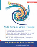 Multimedia Fundamentals  Media coding and content processing