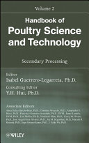 Handbook of Poultry Science and Technology  Secondary Processing