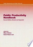 Public Productivity Handbook  Second Edition
