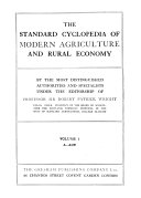 The Standard Cyclopedia Of Modern Agriculture And Rural Economy