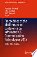 Proceedings of the Mediterranean Conference on Information   Communication Technologies 2015