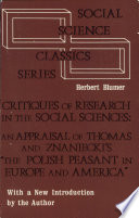 Critiques Of Research In The Social Sciences