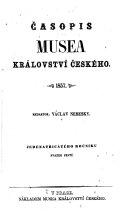 Časopis Musea Království českého