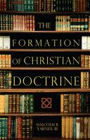 The Formation of Christian Doctrine [Pdf/ePub] eBook