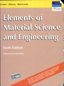 Elements Of Material Science And Engineering  6 E