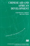 Chinese Aid and African Development