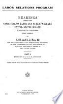 Hearings, Feb. 11-19, 1947