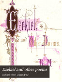 Ezekiel and Other Poems