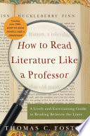 How to Read Literature Like a Professor Book