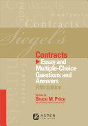 Siegel's Contracts Pdf/ePub eBook