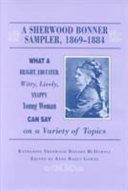 Pdf A Sherwood Bonner Sampler, 1869-1884