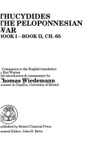 History of the Peloponnesian War  Bk  1 2 Ch  65