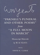 Pdf Parnell's Funeral and Other Poems from A Full Moon in March