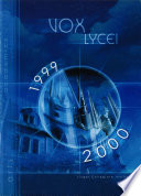 Vox Lycei 1999 2000 Book