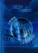Vox Lycei 1999 2000