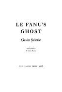 Le Fanu's Ghost
