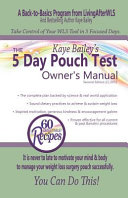 The 5 Day Pouch Test Owner s Manual Book PDF