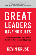 Great Leaders Have No Rules Pdf/ePub eBook