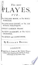 Dramatic Works Containing Fifteen Comedies Now First Collected Book PDF