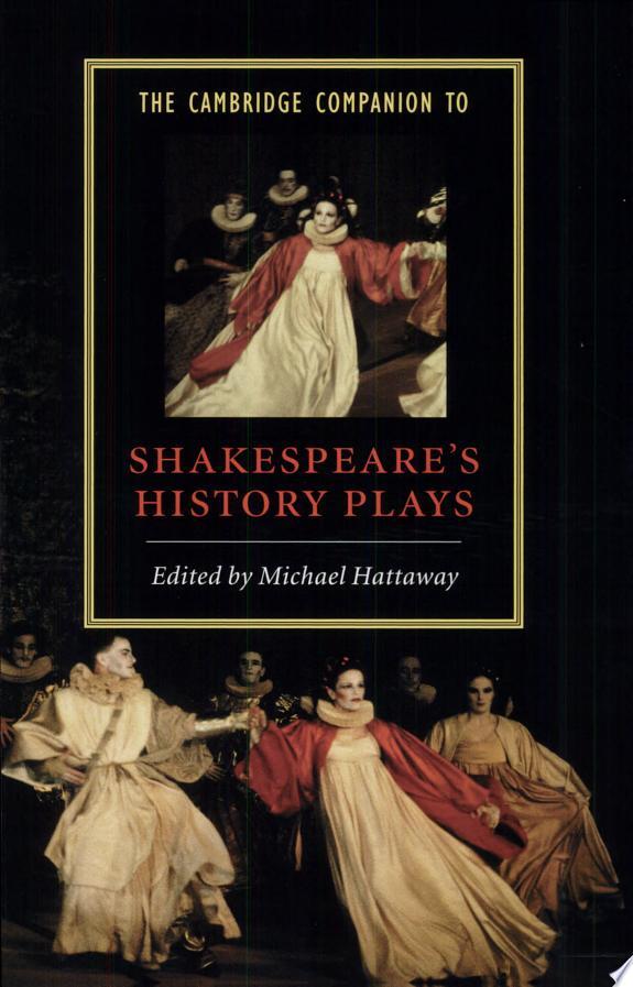 The Cambridge Companion to Shakespe