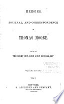 Memoirs  Journal  and Correspondence Book