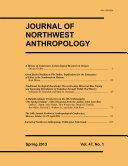 Pdf Journal of Northwest Anthropology