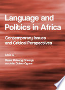 Language and Politics in Africa Book