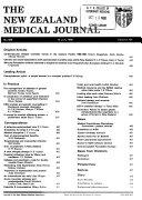 New Zealand Medical Journal Book