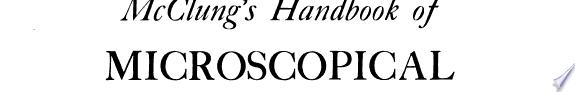 Handbook of microscopical technique