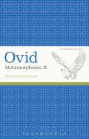 Pdf Ovid, Metamorphoses X Telecharger