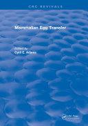 Mammalian Egg Transfer