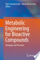 Metabolic Engineering for Bioactive Compounds Book